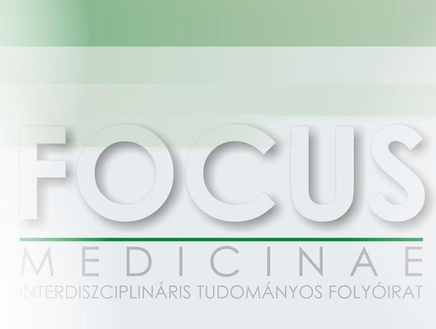 Focus Medicinae Tudományos Folyóirat cím logó