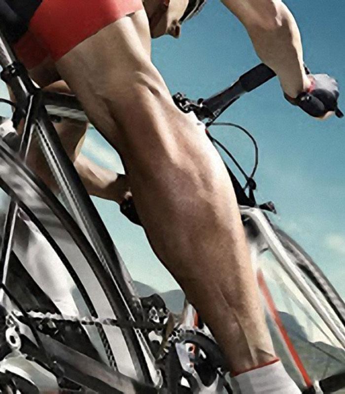 Élsportoló kerékpáros