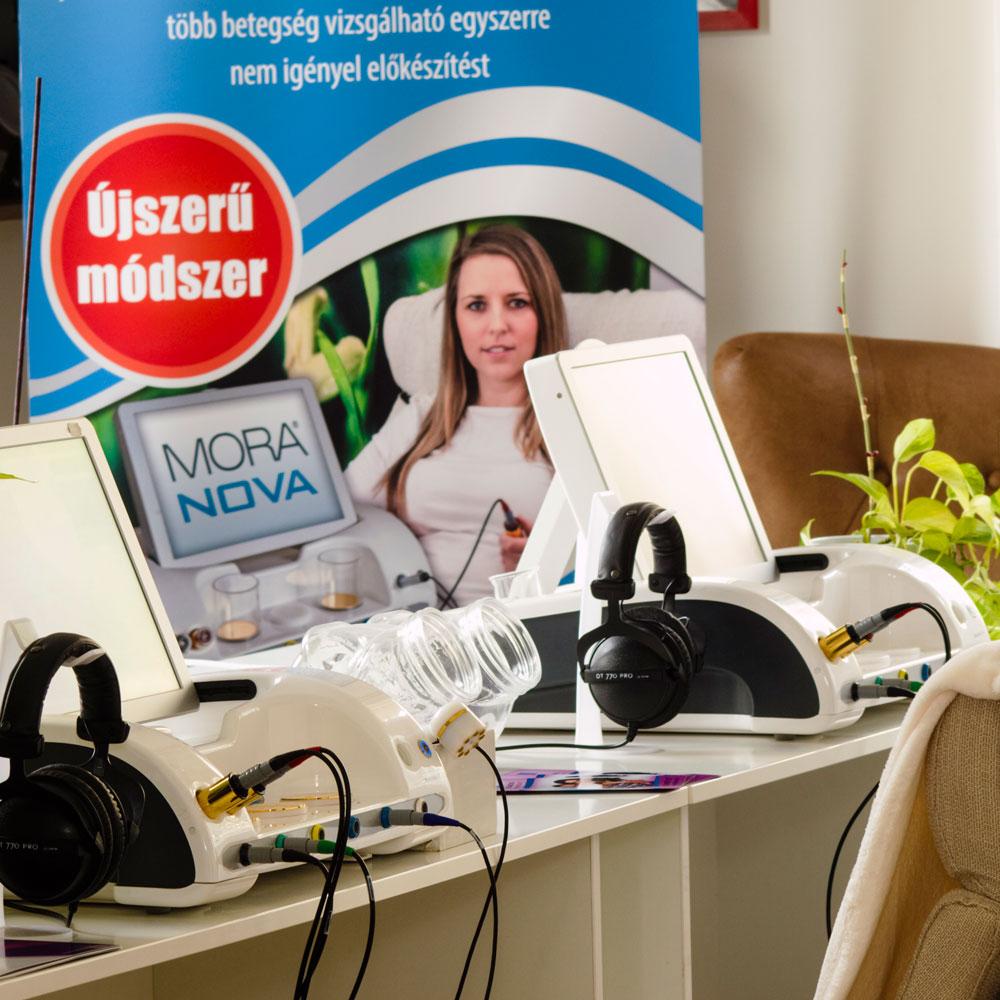MORA Nova gépek a MedDiamond rendelőben